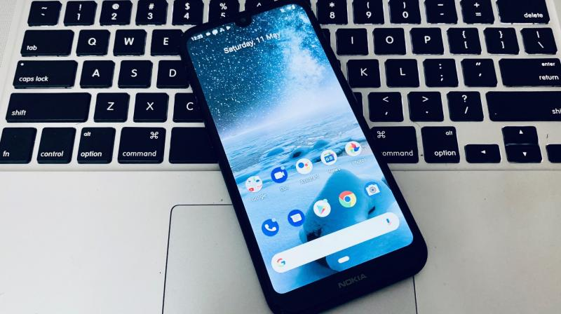 Nokia 4.2 comes in a compact form factor and offers a dedicated Google Assistant button and a breathing LED notification light in the power button.