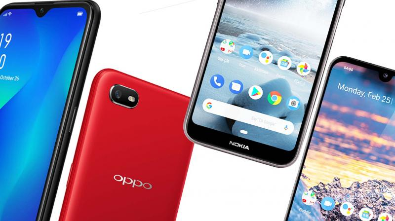 The two latest to woo this sweet spot are the Oppo A1K and the Nokia 4.2.