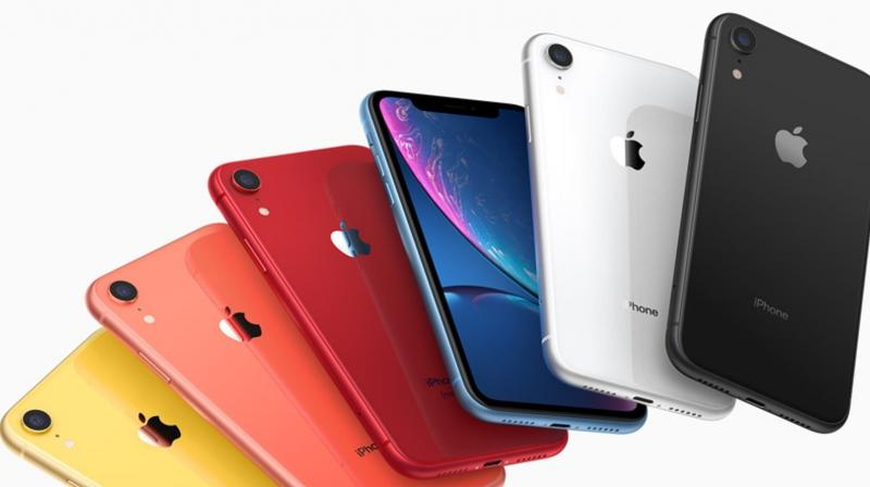The iPhone XR is the first handset since the iPhone 5C to be launched in a wide range of colour options.