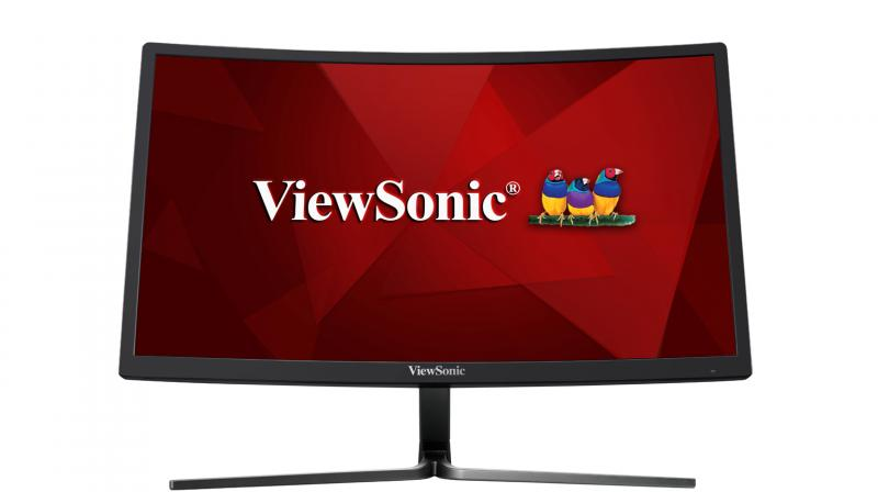 ViewSonic VX2458-C-mhd comes with a curved screen and provides a great viewing experience.