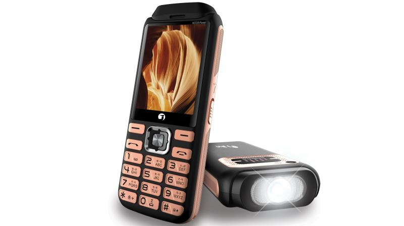 N3720 Power has been launched in two variants Black gold and Black blue at a price of Rs 1,799.
