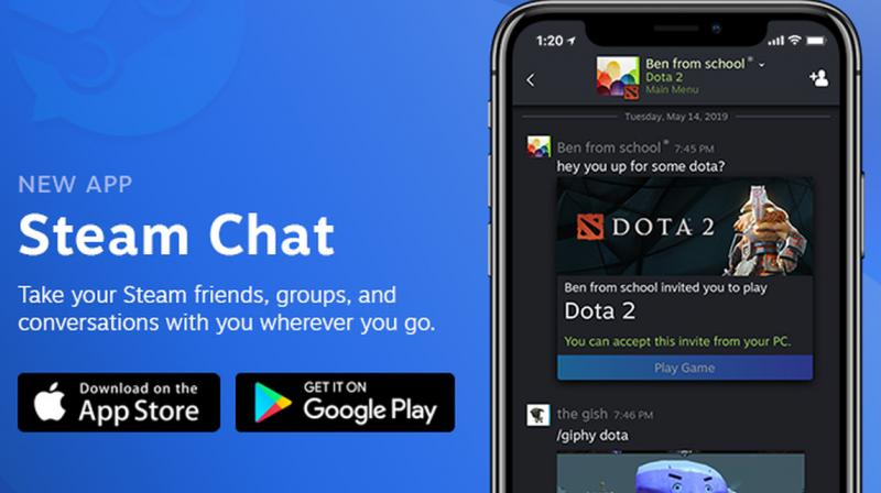 The company is already working on additions to the Steam Chat app, such as voice chat support.