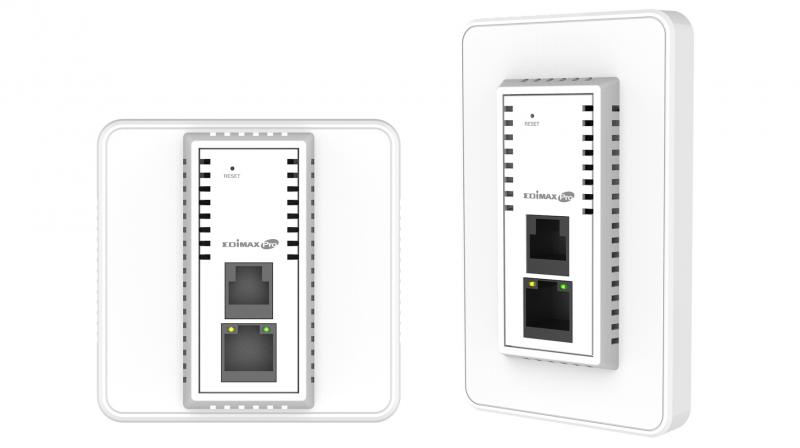 A powerful wireless solution like Edimax AC1200 3-in-1 Dual-Band In-Wall PoE Access Point allows you to roam without losing connectivity, thereby increasing the ease of doing business.