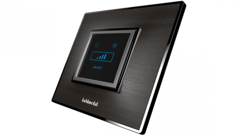Goldmedal's i-Touch Wi-Fi switches are equipped with a micro controller chip that saves all the parameters pre-set by the user.