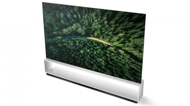 The 8K OLED TV promises 8K Ultra HD resolution, over 33 million self-emitting pixels for life-like colours.