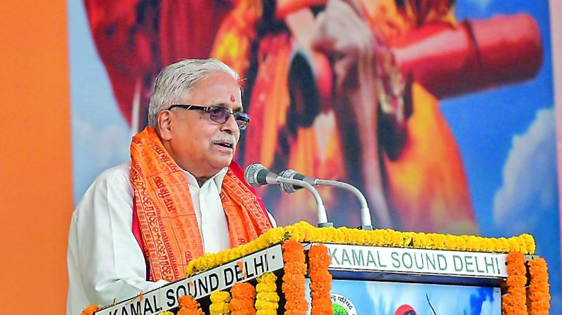 RSS and Vishva Hindu Parishad corner govt over Ram Temple