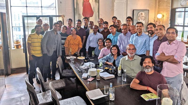IIT-M alumni in London celebrate the silver jubilee of their alma mater on Saturday (July 13).(Photo: DC)