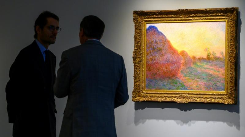 Monet's Muele painting fetching $110.7 million was the first time an Impressionist painting fetched more than $100 million. (Photo: AFP)