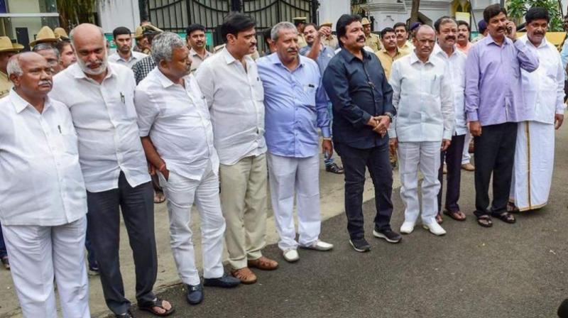 The rebel legislators were disqualified by the then speaker K R Ramesh Kumar in July. (Photo: File)