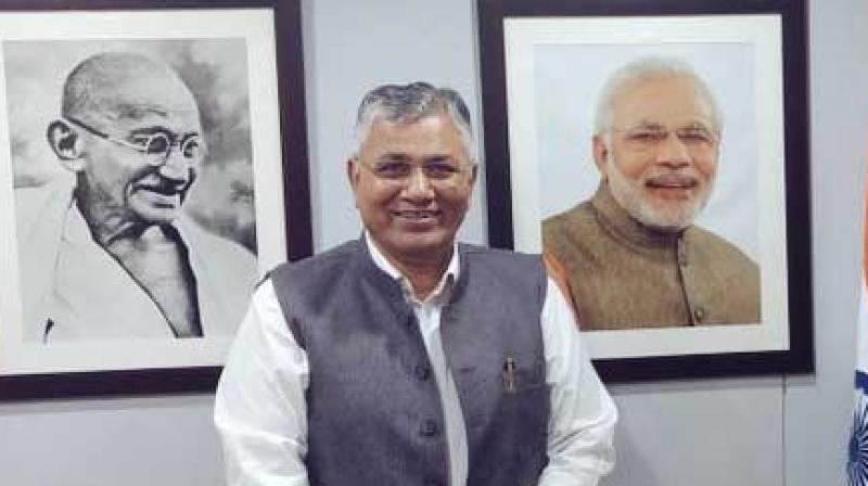Minister of State for IT and Electronics PP Chaudhary  (Photo: Twitter)