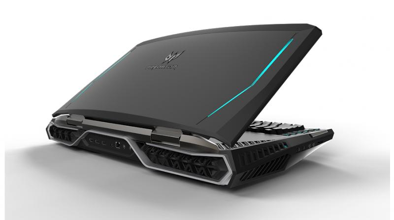 acer unveils world s first curved screen gaming notebook