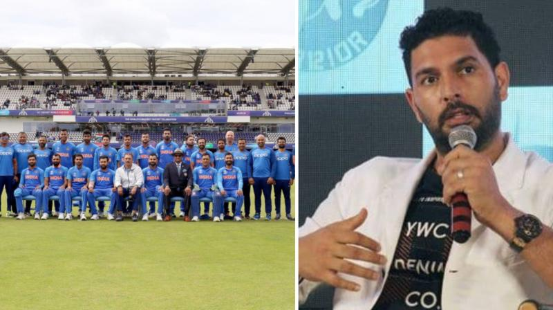 Criticizing the selectors and team management, Yuvraj Singh said the selectors and team management were care-less and negligent in handling the middle-order issue. (Photo: Indian cricket team/afp/twitter)