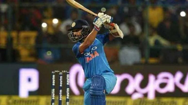 As India and Bangladesh get ready to face each other in the two-match test series, vice-captain Ajinkya Rahane on Tuesday said that if he keeps on scoring runs in the longest format of the game, then it will be about time that he makes a comeback in the 50-over format. (Photo:AFP)