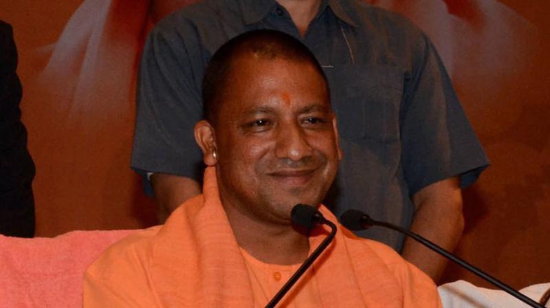 Uttar Pradesh Chief Minister Yogi Adityanath. (Photo: ANI/Twitter)