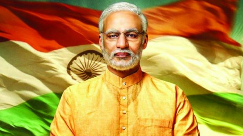 Vivek Oberoi as Narendra Modi in the film.