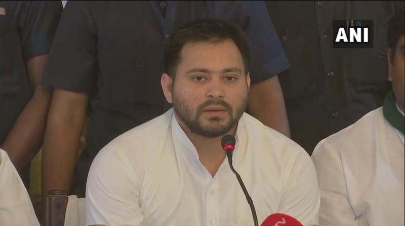 RJD national vice-president Shivanand Tiwary said as per my information, a wrong photograph had been printed against Tejashwi's name in the voters list which may have prevented him from voting. (Photo: File)