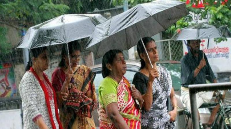 Yellow Alert given for 4 Kerala Districts