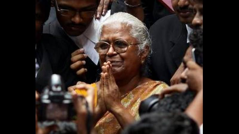 Arputhammal further said the Governor was 'cordial' towards her and went through her petition, and that he even suggested some correction which was done. (Photo: File | PTI)