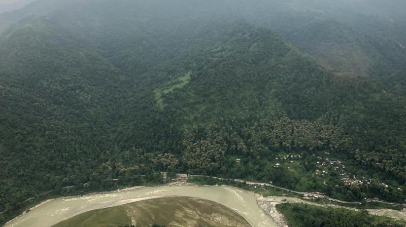 On his way to Sikkim to inaugurate the Pakyong Airport, Prime Minister Narendra Modi on Monday shared some beautiful pictures of the Himalayan state on his Twitter. (Photo: Twitter | @narendramodi)