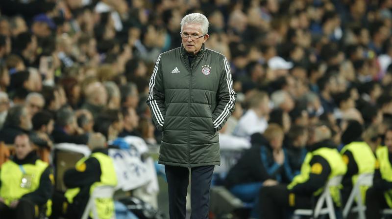 Heynckes will be replaced by Eintracht Frankfurt boss Niko Kovac next season. (Photo: AP)