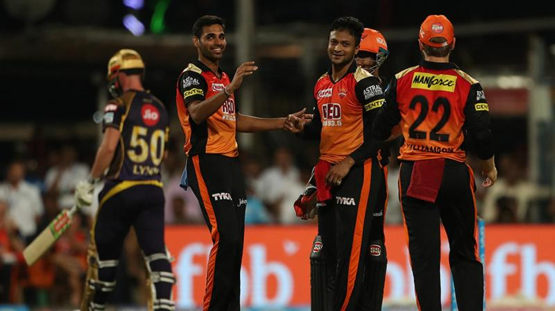 Bhuvneshwar Kumar has been affected by a niggling back injury and has missed the last 2-3 games for the SRH
