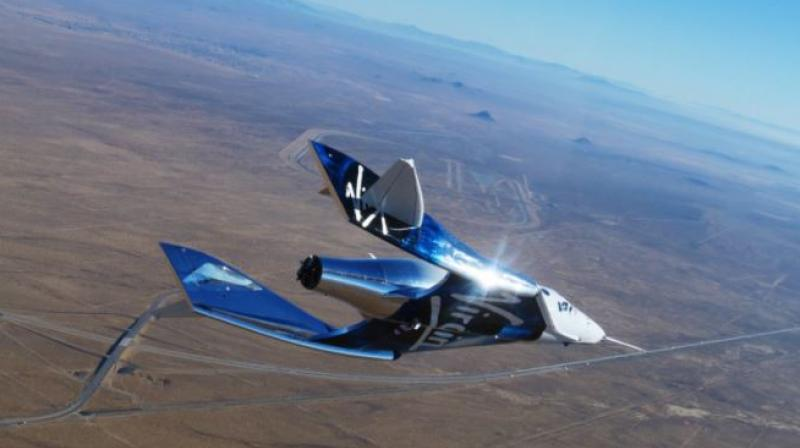 Virgin Galactic's chief astronaut instructor, Beth Moses, who is a former NASA engineer, became the first woman to fly to space on a commercial vehicle when she joined pilots David Mackay and Mike Masucci on SpaceShipTwo VSS Unity.