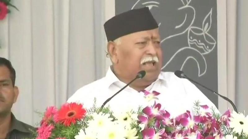 RSS chief Mohan Bhagwat. (Photo: ANI)
