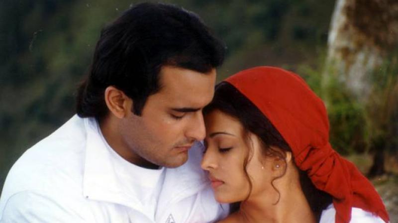 Akshaye Khanna and Aishwarya Rai in 'Taal.'