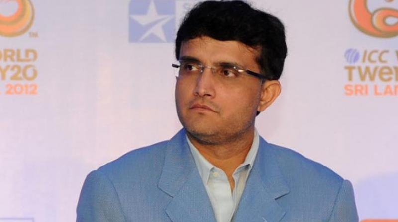 Sourav Ganguly was the only candidate to file his nomination for the post and was elected unopposed. (Photo: AFP)