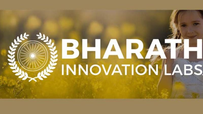 They formed an Innovation Lab in Hyderabad which is now the technology partner of the 104th Indian Science Congress (ISC) at Tirupati.  (Photo: www.bharathinnovationlabs.com)