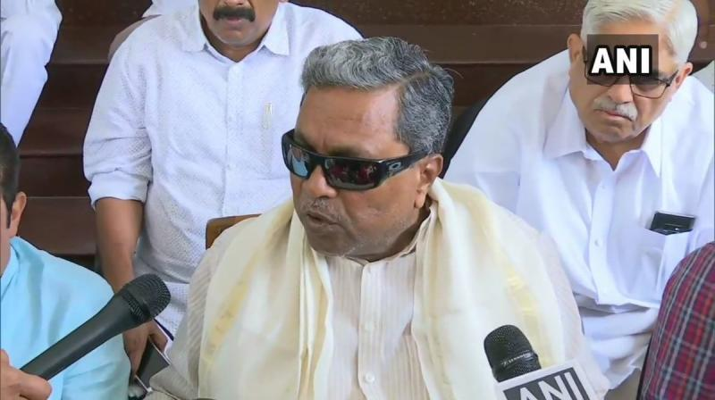 'I have clearly said that without taking Siddaramaiah, who was Chief Minister for five years, into confidence Sonia Gandhi and Rahul Gandhi all of a sudden came and said Kumaraswamy is the next Chief Minister, it was their wrong decision,' Gowda told reporters on Thursday. (Photo: ANI)