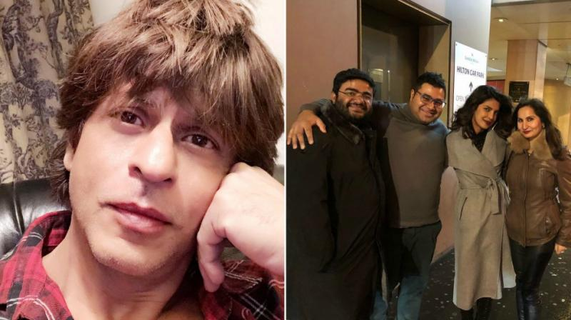 SRK, PeeCee celebrate New Year.