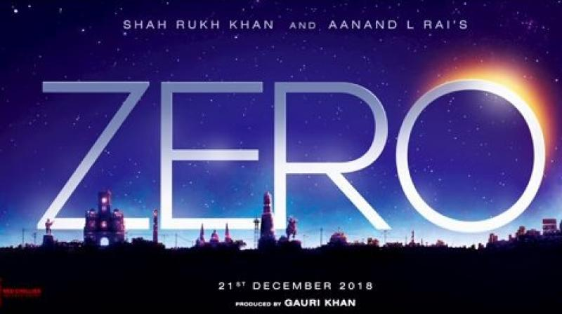 'Zero' title announcement.