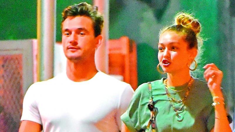 Tyler Cameron and Gigi Hadid