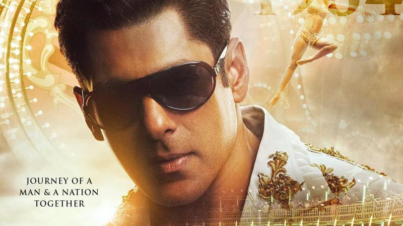 Salman Khan's look in Bharat. (Photo: Twitter)