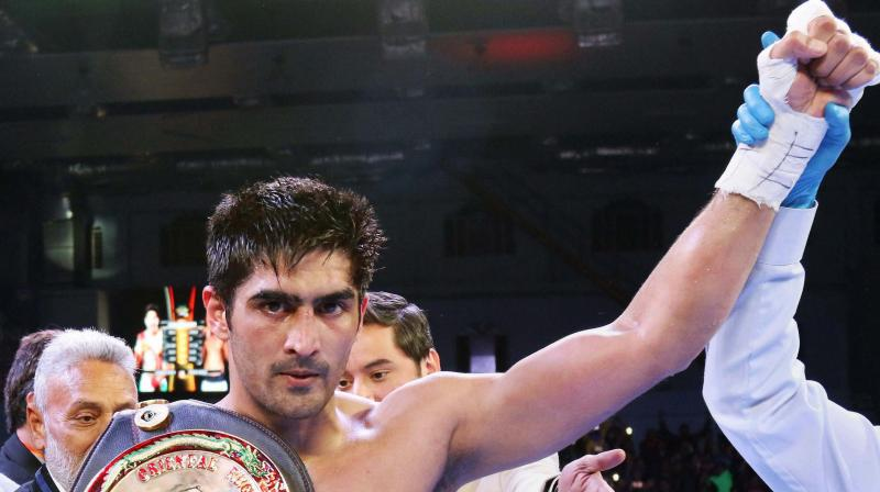 Top Rank signs boxing star Vijender