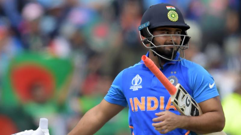 The 21-year-old Pant said that the team management is just trying to give every member of the squad a chance to play in the final XI. (Photo: AFP)