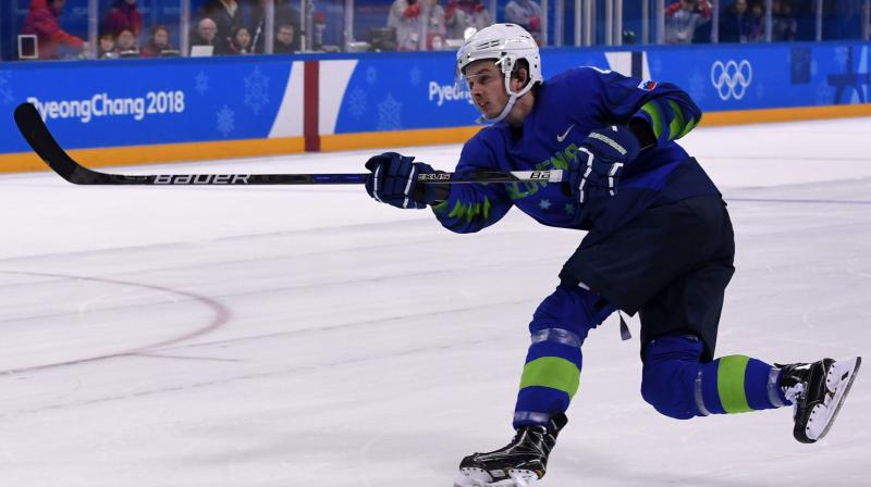 Slovenia ice hockey player tests positive for doping at Olympics