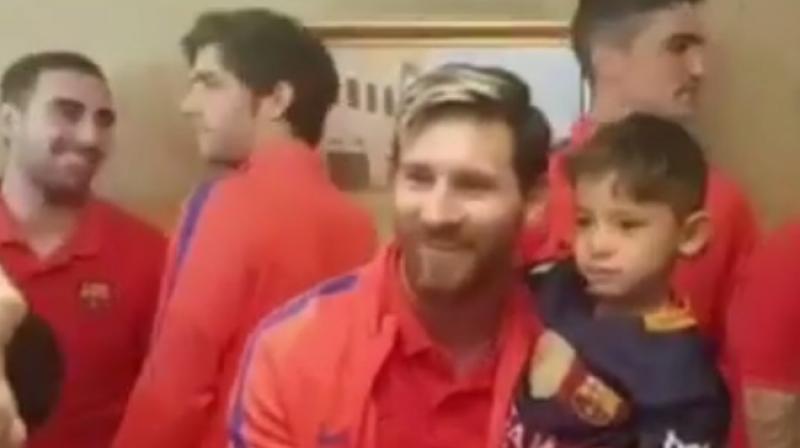 d1e65abf4 Murtaza Ahmadi met Lionel Messi in Doha