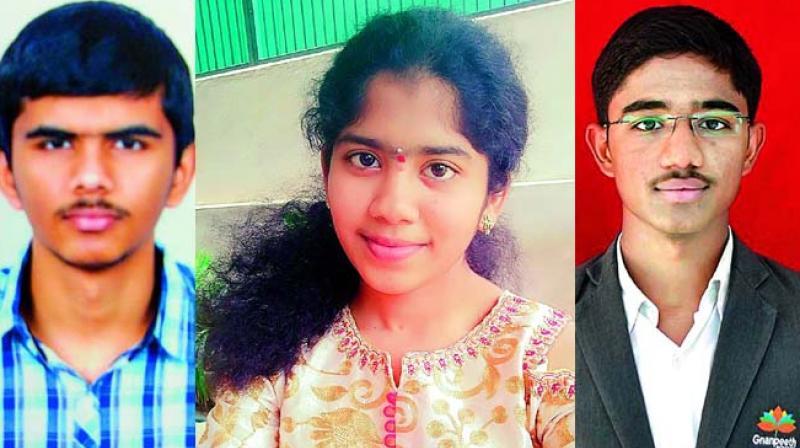 Y. Sanjeeva Kumar Reddy, Perigela Namratha and Samala Sriaryan ( Agriculture and Pharmacy and others (AM)