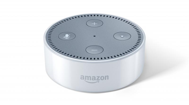 Amazon Echo Dot comes with built-in Alexa support for voice control. (Photo: Echo Dot)