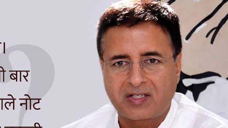 Congress spokesperson Randeep Singh Surjewala. (Photo: File)