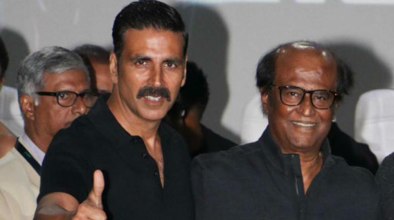 Akshay Kumar and Rajinikanth.