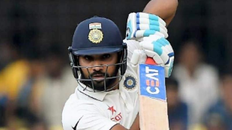 Sharma smashed a ton in both the innings, scoring 176 and 127 runs in the first and second innings respectively. (Photo: AFP)