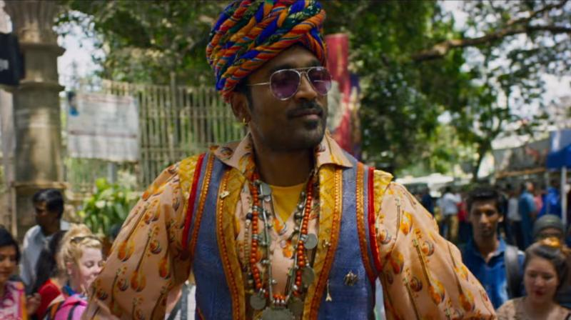 Dhanush in 'The Extraordinary Journey of the Fakir'.