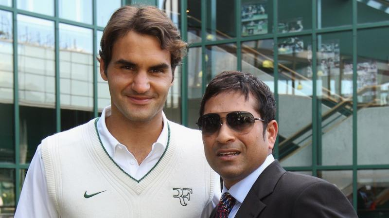 In a disagreement with Yuvraj Singh, Sachin Tendulkar made an incredible prediction about Roger Federer's career. (Photo: AFP)