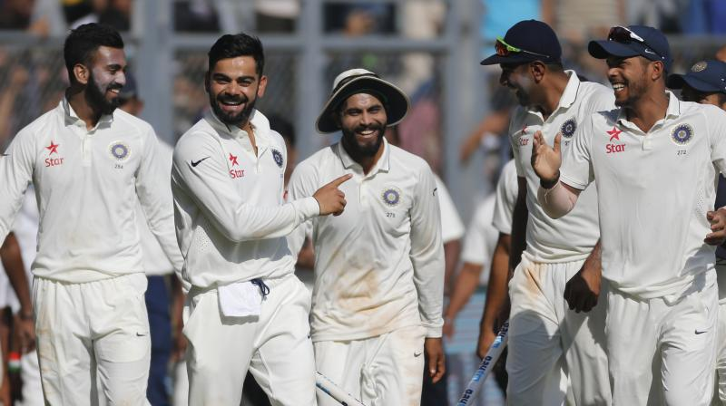 India have stretched their lead over South Africa from four to 13 points after gaining four points to reach an aggregate of 125 while South Africa have lost five points and slipped to 112. (Photo: AP)