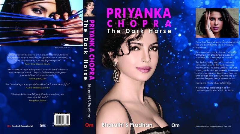 Priyanka Chopra's book cover.