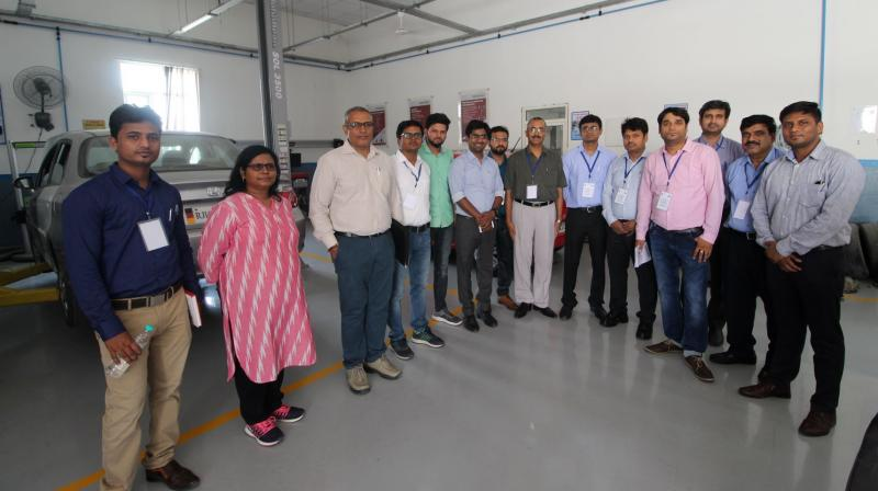 Bhartiya Skill Development University (BSDU) has organized a two-day workshop in association with EOS.