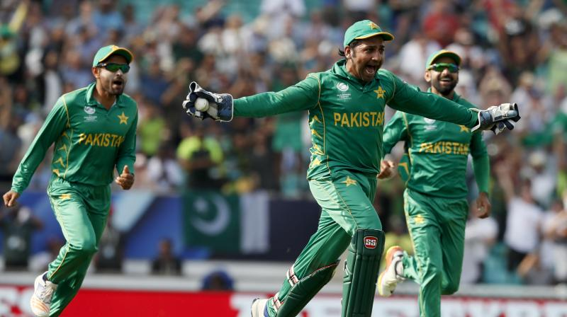 """Huge congratulations need to go to Mickey Arthur, Sarfraz Ahmed, the support staff and players for showing great character and turning the team's fortunes around,"" wrote Michael Hussey in his column for ICC. (Photo: AP)"
